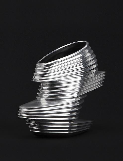 Zaha Hadid - Nova shoes for United Nude, 2013