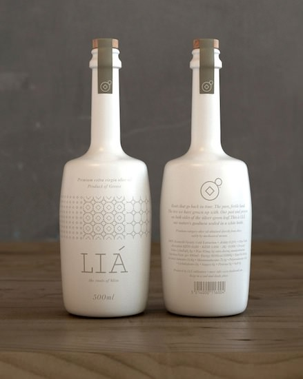 Bob Studio - branding and packaging for Lia olive oil company