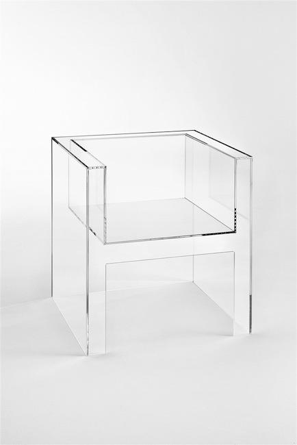 Tokujin Yoshioka - The Invisibles Light armchair, 2011