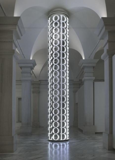 Jenny Holzer - For SAAM - at the Smithsonian American Art Museum, 2007