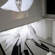 Zaha Hadid Architects - Pop-up Salon for Fudge Hair, London Fashion Week, Sept 2012