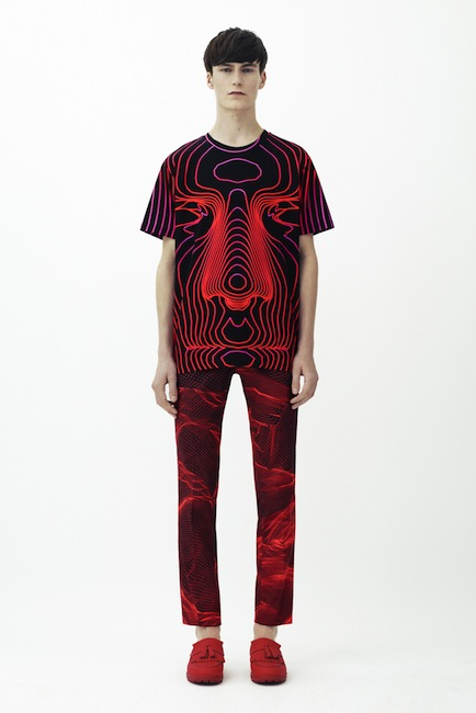 Christopher Kane - SS 2014 men ready-to-wear collection