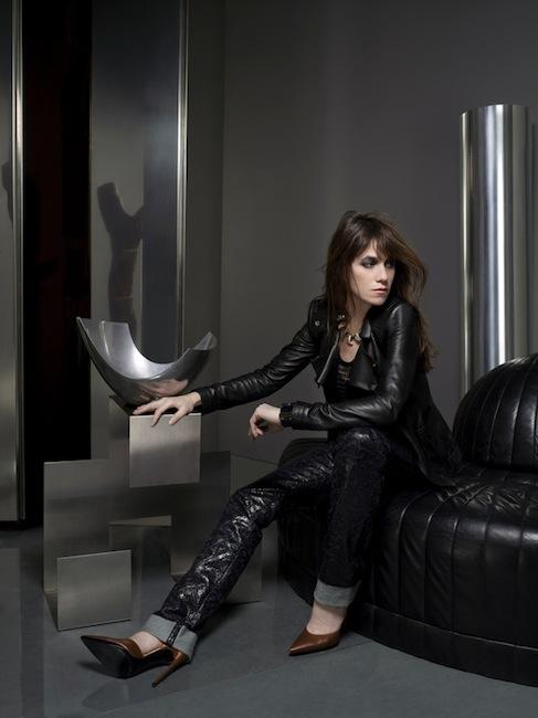 Kate Barry - Charlotte Gainsbourg -L'Essence- de Balenciaga, eau de parfum