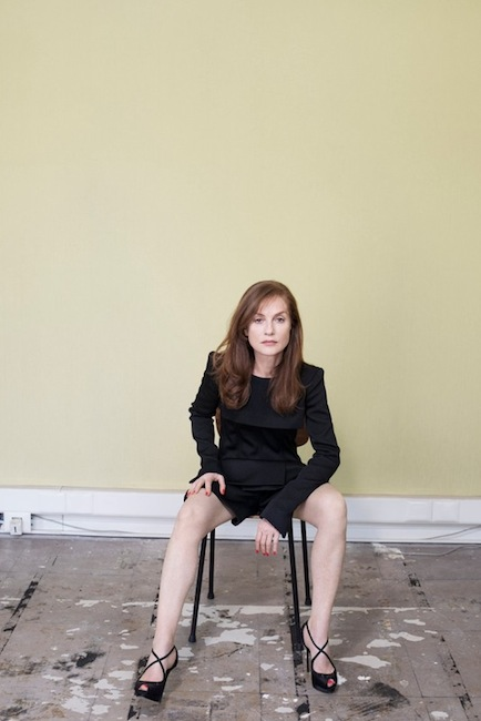 Kate Barry - Isabelle Huppert (SZ Magazin - Septembre 2013)