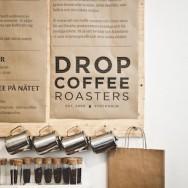 Simon Alander - Branding for Drop Coffee roasters