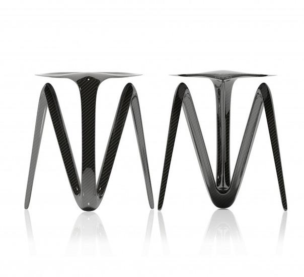 Alvaro Uribe Design - Plum Stool Series 2