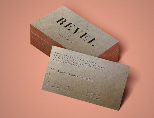 Andrea Ramirez - Branding and packaging for Revel Market, 2014