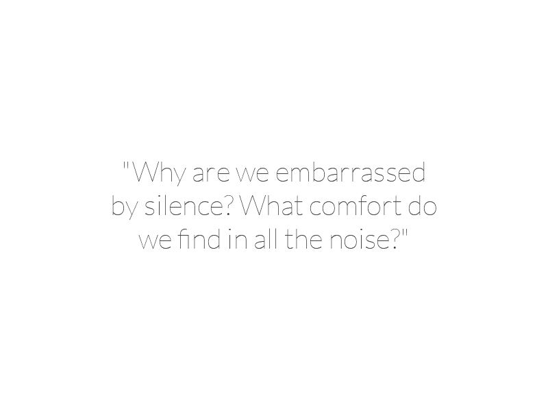 Mitch Albom - Why are we embarrassed by silence