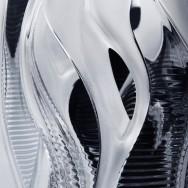 Zaha Hadid - Manifesto and Visio vases for Lalique