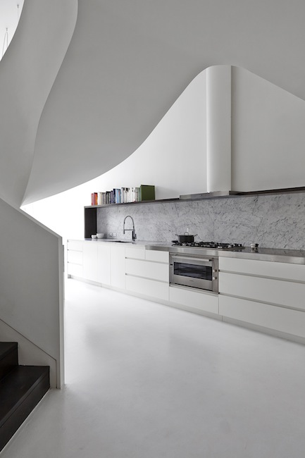 Adrian Amore Architects - Loft apartment in West Melbourne