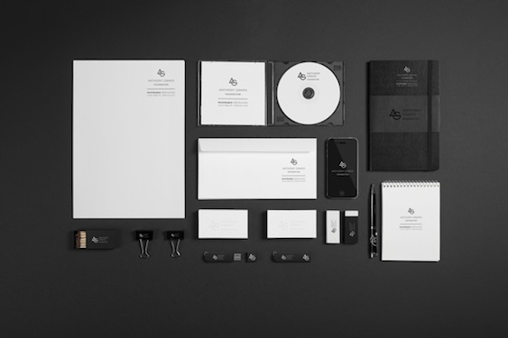 Daniel Lasso Casas - Anthony Graves branding and visual identity