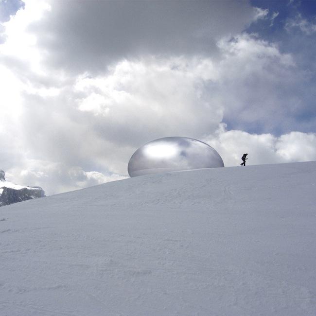 Ross Lovegrove - Alpine Capsule, Alta Badia, Italy, 2005-2008
