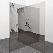 Jeppe Hein - Fragmented Mirror Angle, 2013