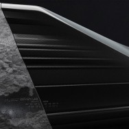 Onyx sofa - by Pierre Gimbergues for Peugeot Design Lab, 2014