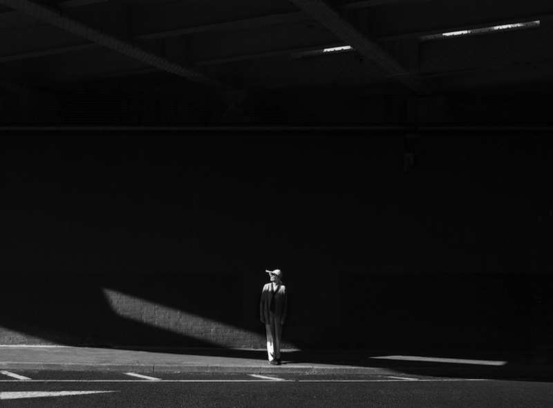 Rupert Vandervell - Man on Earth serie - in the line of light