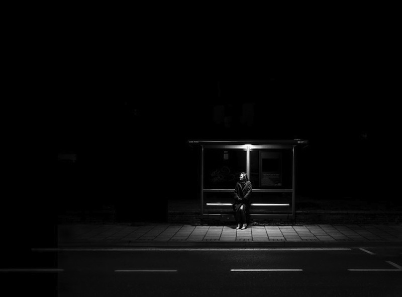 Rupert Vandervell - Man on Earth serie - remain in light