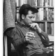 Jack Kerouac at 306 W 14th Street, by Fred W. McDarrah