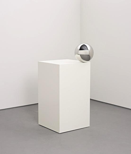 Jeppe Hein - Ball on Pedestal, 2007