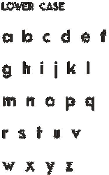 Moderne Sans by Marius Kempken