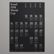Karoshi - Brazil 2014 World Cup wallchart and website