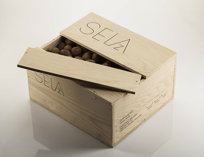 Bruketa and Zinic OM - Branding and packaging for Sela Z walnuts
