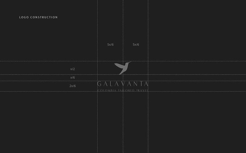 Daniel Lasso Casas - Branding for Galavanta, Colombia Tailored Travel