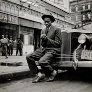 George Strock - Leroy Robert 'Satchel' Paige, Harlem, 1941