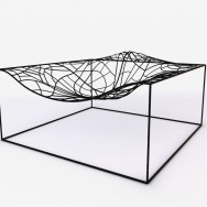 Jean-Marie Massaud - 3D model lounge chair made by Viccarbe