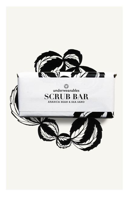 Underwearables - Scrub Bar (Coffee Arabica beans and Zanzibar sea sand)