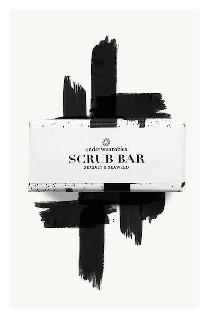 Underwearables - Scrub Bar Seasalt & Seaweed
