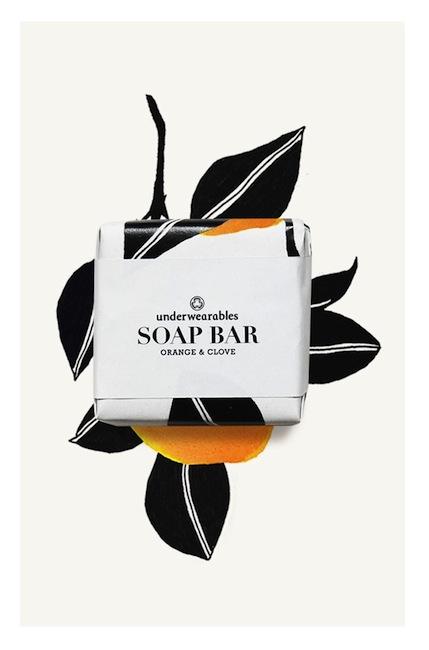 Underwearables - Soap Bar Orange & Clove