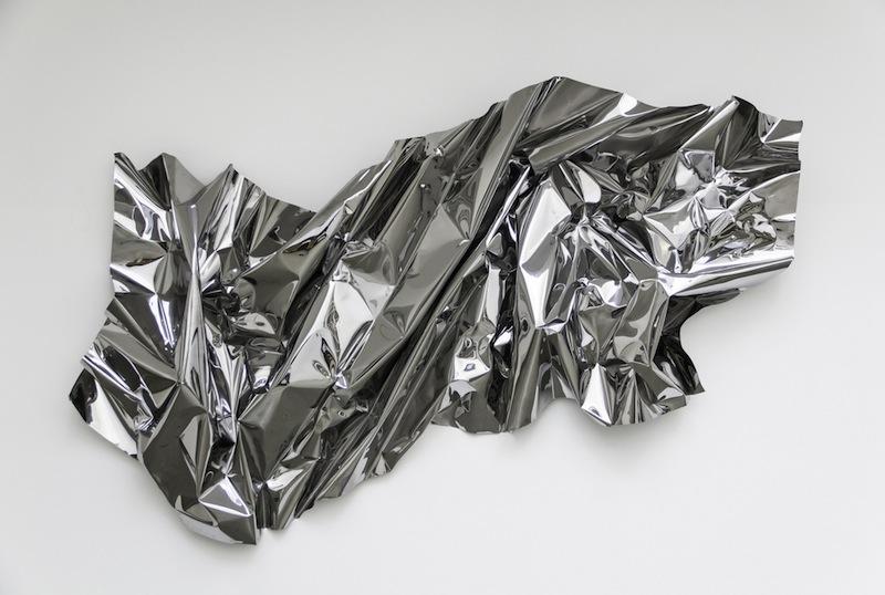 Aldo Chaparro Winder - February 17, 2013 (Stainless steel, 140 x 270 cm)