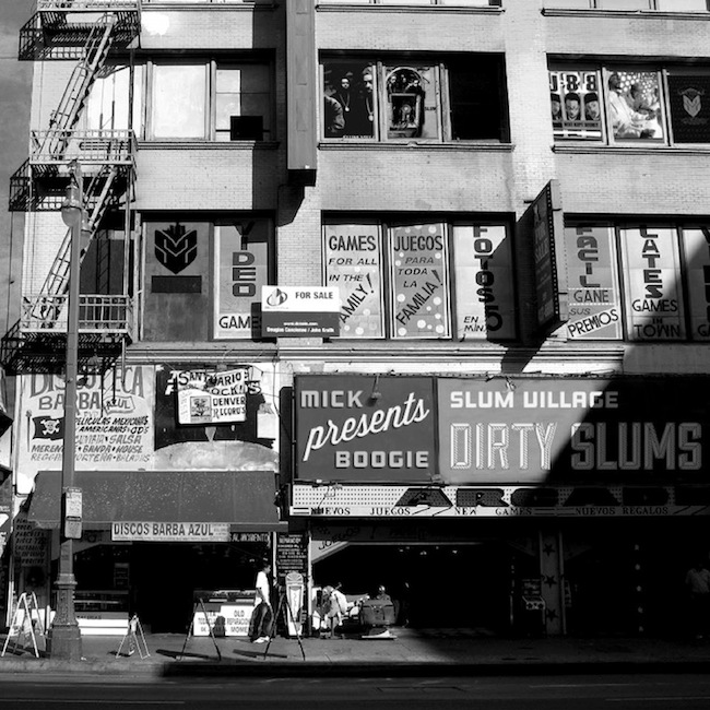Logan Mills Walters - Slum Village, Dirty Slums mixtape hosted by Mick Boogie, 2012