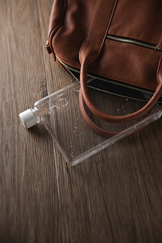 Memo Bottle - A4, A5 and Letter re-usable water bottles