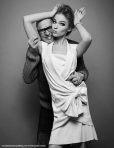 Benjamin Kanarek and Sasha Luss by Paul-Antoine Goutal for Harper's Bazaar