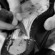 Louis Vuitton men's shoes, handmade in the Fiesso d'Artico's factory