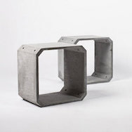 Bentu Design - Zhi and Kou cement furnishings