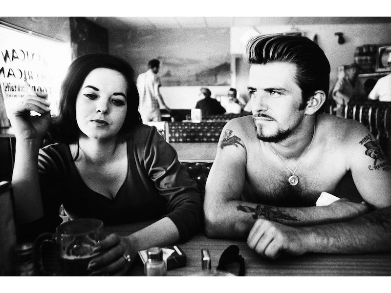 Dennis Hopper - Biker Couple, 1961