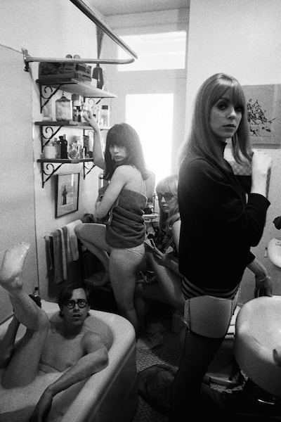 Dennis Hopper - Bruce Conner (in tub), Toni Basil, Teri Garr and Ann Marshall, 1965