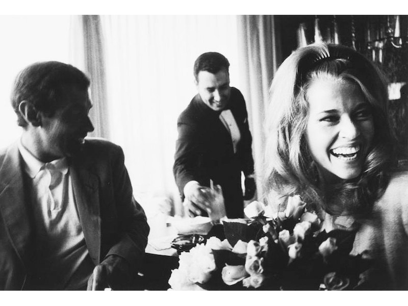 Dennis Hopper - Jane Fonda and Roger Vadim at Their Wedding, 1965