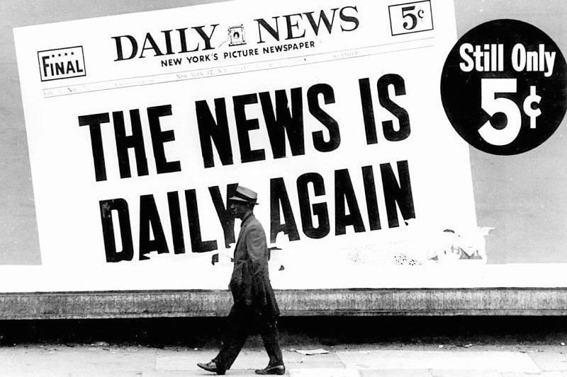 Dennis Hopper - News is Daily Again, 1963