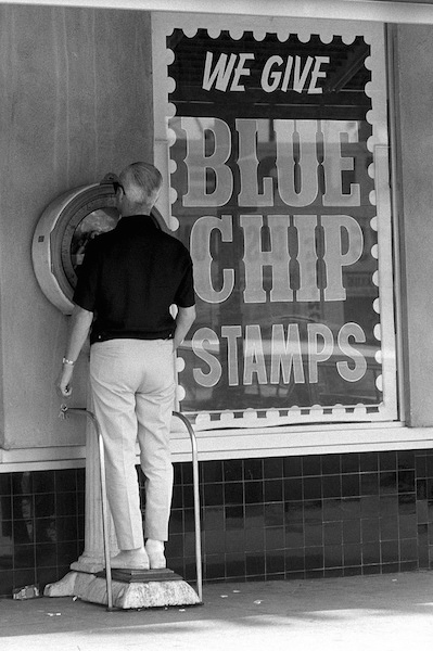Dennis Hopper - Untitled (Blue Chip Stamps), 1961-67