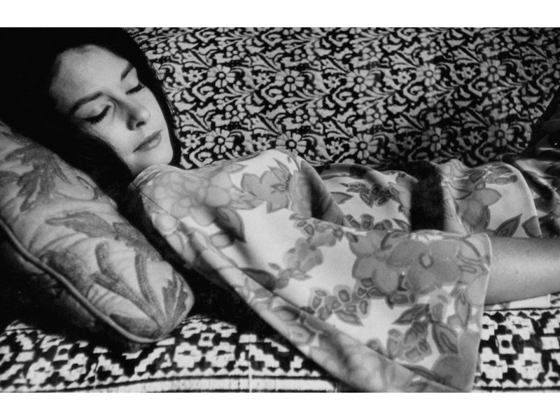 Dennis Hopper - Untitled (Woman Sleeping on Couch), 1961‐67