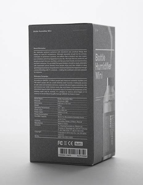 Eleven plus - The Bottle Humidifier Mini
