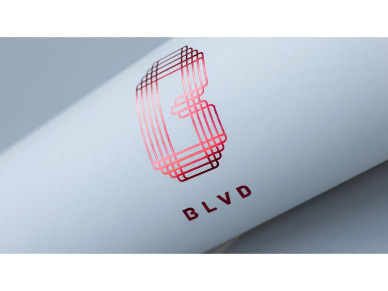 Blvd Mtl - Visual identity