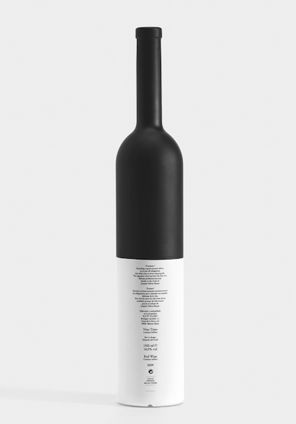 Eduardo del Fraile - Extenso wine bottle for Carchelo wines