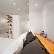 L. Mccomber ltee - Juliette aux combles, remodeling of a third-floor single-family dwelling, Plateau Mont-Royal, Montreal, 2013