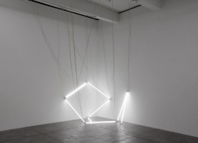 Navid Nuur - Tentacle Thought nr-15, 2006 - 2014 (Neon tubes, wire)