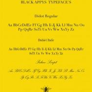 Daniel Barba - Identity and packaging for Black Appys, Guadalajara Mexico