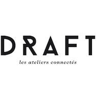 Draft - creative workshop for 3D print, laser cut, furniture, textile, Paris